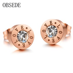 Obsede fashion charm forever love stud earrings simple style stainless steel earrings for women rose gold.jpg 250x250