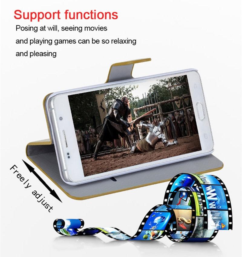 Xiaomi Mi A2 Lite Case- ը Flip 5.84-ի կաշվե հեռախոսի - Բջջային հեռախոսի պարագաներ և պահեստամասեր - Լուսանկար 4