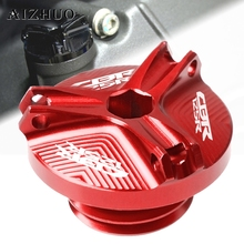 Motorcycle Engine Oil Filler Cup Cap Plug Cover For HONDA CBR125R CBR 125R 125 R 2011-2014 2012 2013 CBR125