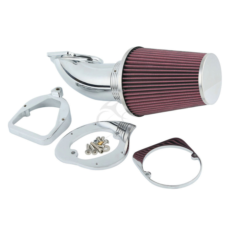 Chrome Air Cleaner Cone Intake Filter For Honda Shadow ACE Aero Spirit 750 1100 цена