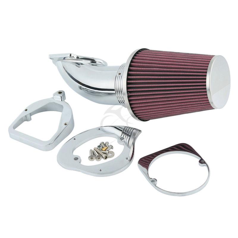 Filtro de admisión de cono para Honda Shadow, limpiador de aire cromado, ACE Aero Spirit 750 1100