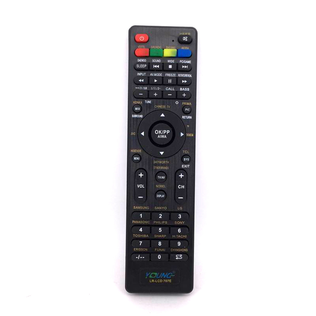 young brand new generic lcd tv remote control lr lcd 707e for rh aliexpress com Sharp GA535WJSA Remote Control TV Sharp Smart TV Remote Control
