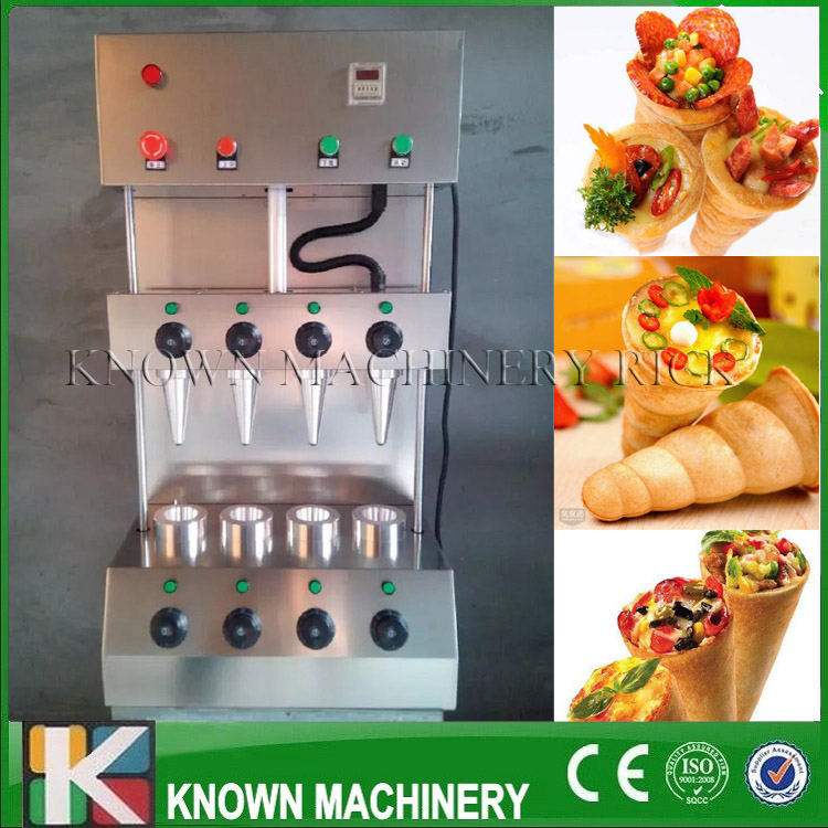 The best selling 304 stainless steel Pizza Cone Maker/Making Machine