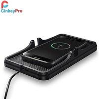 CinkeyPro Car Charger For IPhone IPad Samsung Lighter 2 Port USB Car Charger 5V 2A Charging