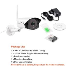 Image 2 - Techege 1080P HD Wifi IP מצלמה חיצוני מקורה 2MP אלחוטי Wired אבטחת מצלמה זיהוי תנועה אינטרקום TF כרטיס חריץ