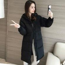 Зимняя куртка, длинные толстые Корейских женщин новый зимний хлопка ватник тонкий