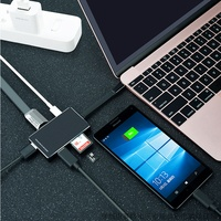 New For Macbook Lenovo Matebook USB C 3 0 Adapter To Type C Charging Port With