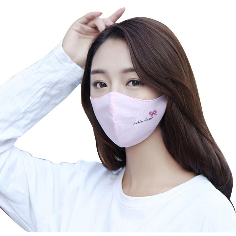 Hilfreich 1 Pcs Mode Mädchen Gesicht Mund Maske Anti Staub Maske Filter Winddicht Mund-muffel Bakterien Beweis Grippe Gesicht Masken Pflege Reusable Masken