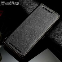 Genuine Leather Adoription Flip Cover Case For HTC One M9 M9 Plus Luxury Phone Bags Cases