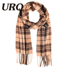 long tartan winter men scarf plaid warm tassel knitted unisex soft warm scarves imitation cashmere winter scarves 2016 hot sale