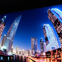 HK p1.25 COB Full color led display screen Ultra high definition indoor led video wall
