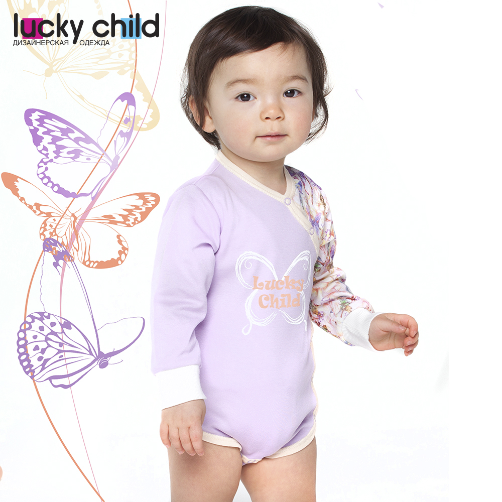Bodysuits Lucky Child for girls 26-5 Tropical paradise Newborns Babies Baby Clothing Children clothes tank tops made in russia