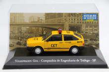 IXO Altaya 1:43 Scale V~ W Gol Companhia de Engenharia de Trafego SP Toys Car Diecast Models Limited Edition Collection auto inn ixo 1 43 gurgel carajas corpo de bombeiros diecast model car