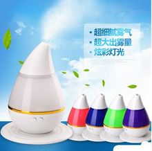 Free shipping Tiny tear-shaped colorful gradient ultrasonic aromatherapy atomization home office car multi-purpose  humidifier