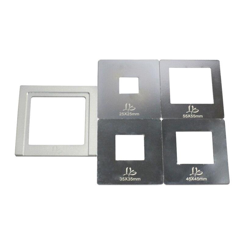 цены LY IR Flectors Set 25mm/35mm/45mm/55mm for Infrared BGA Rework Station Upper Heater Cover
