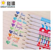 Цветная гелевая ручка 10 шт в наборе 2 набора упаковке высокое