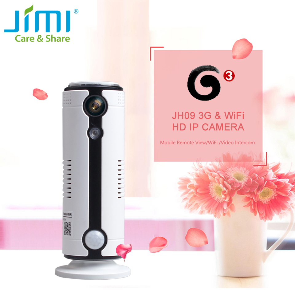 Jimi JH09 3G 720P Surveillance Camera IP Camera Wi-Fi Home Security Alarm CCTV Camera System Home Security Indoor Baby Monitor