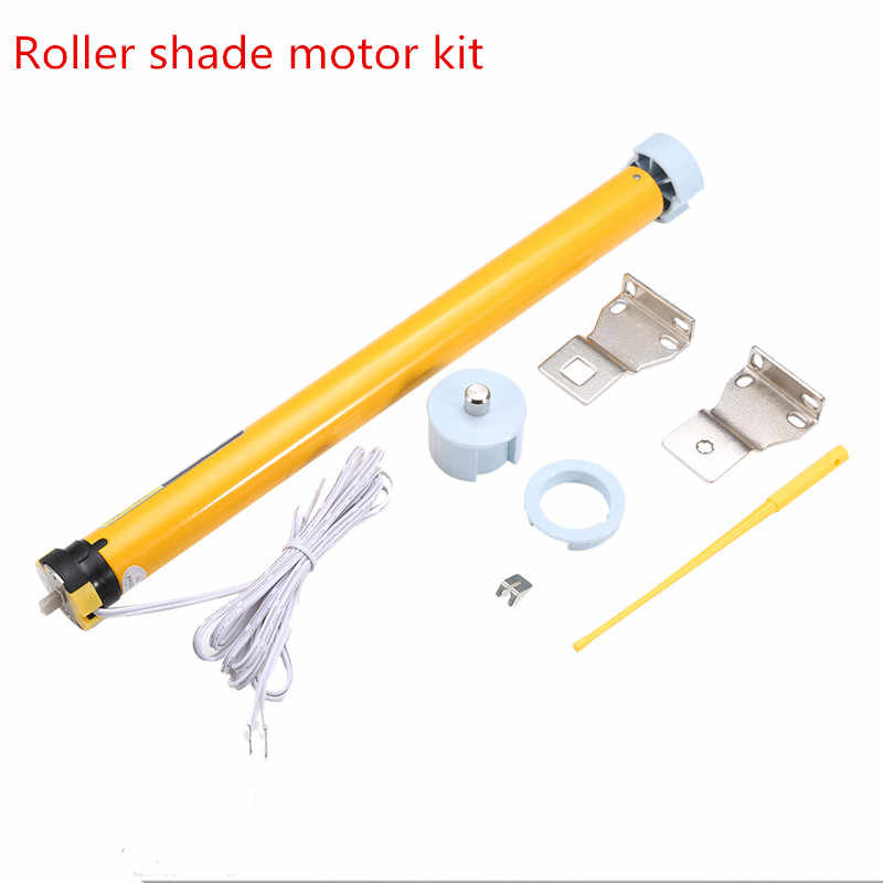 Dc 12v 30rpm Electric Roller Blinds Curtains Blinds Shades