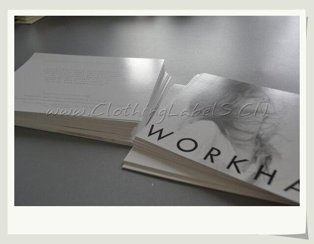 custom printed clothing tags brand name card printed flyers as