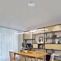 Modern art deco, подвесные светильники сплав акрил Новинка окрашенные висит свет светодио дный 220 В лампа для спальни кухня ресторан palor