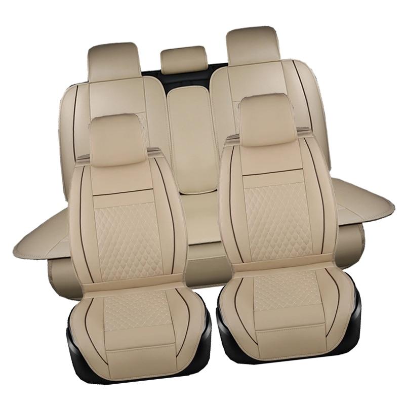 PU siège de voiture En Cuir couvre Pour Volkswagen vw passat b5 b6 b7 polo 4 5 6 7 de golf tiguan jetta touareg auto accessoires de voiture-style - 6