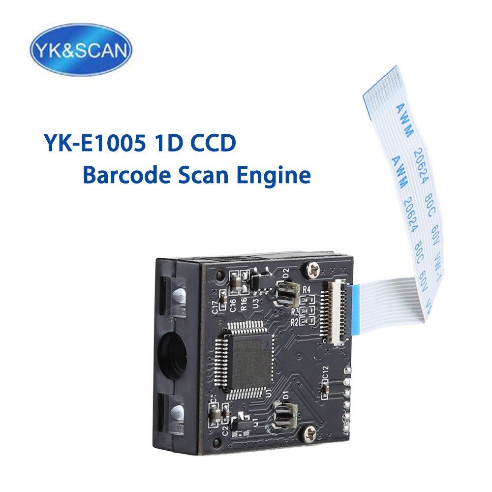 YK и сканирование yk-e1005 1D лазерный сканер, модуль Встроенный сканер Двигатели для автомобиля модуль CCD сканер штрих-кода USB/ttl232 сканер модуль