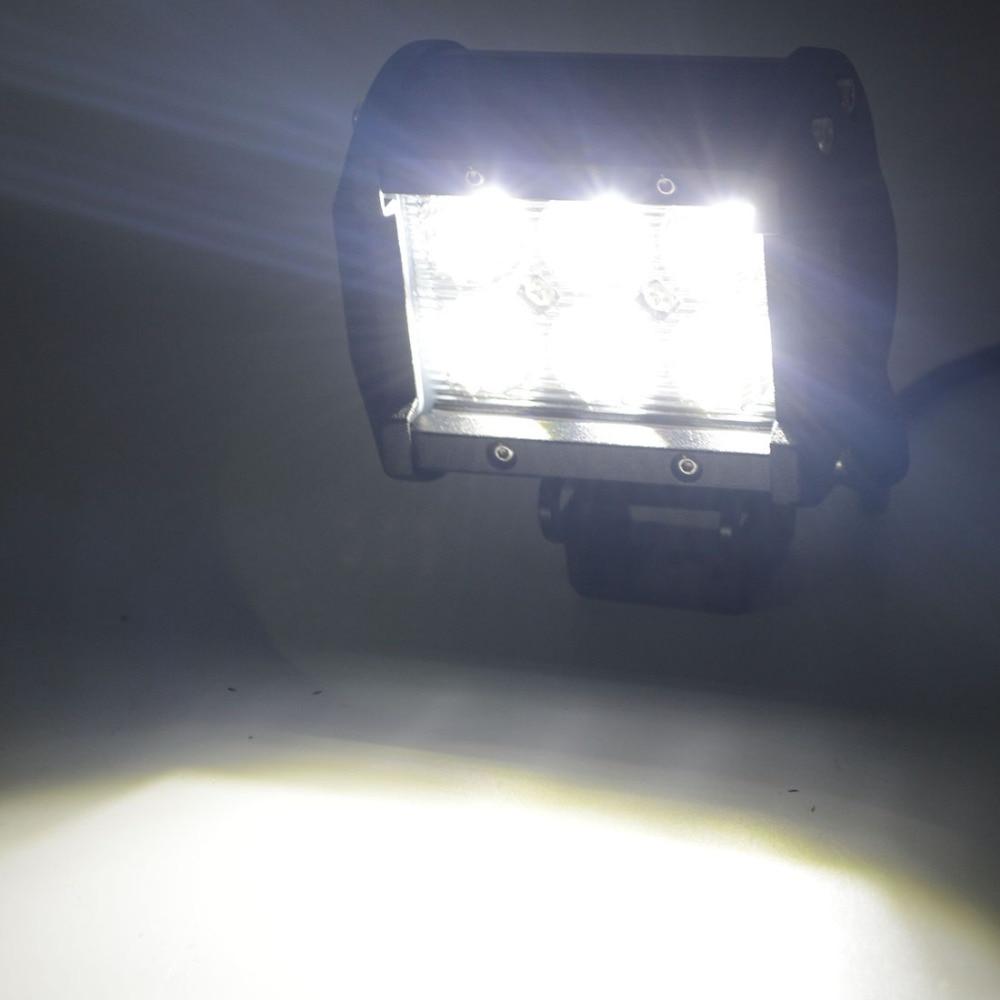 Safego 12 V LED Tractor 18 W Led Kerja Light Bar 18 W Offroad Light - Lampu mobil - Foto 5