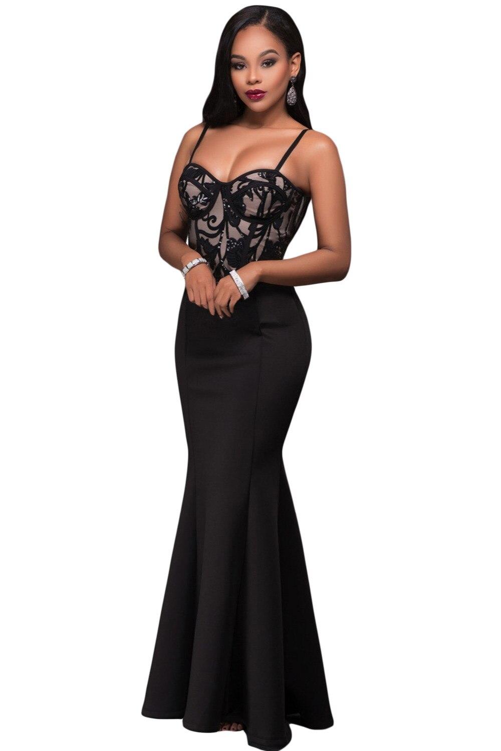 Frau kleider Promi formale dünne taille cocktail knöchellangen ...