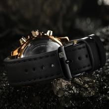 NAVIFORCE Men's Watches Top Luxury Brand Sport Men Watches Quartz Watch Analog Waterproof Sports Leather Army Military WristWatch