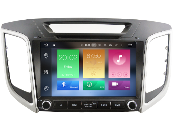 Android 6.0 CAR Audio DVD player FOR HYUNDAI ix25/CRETA gps Multimedia head device unit receiver BT WIFI