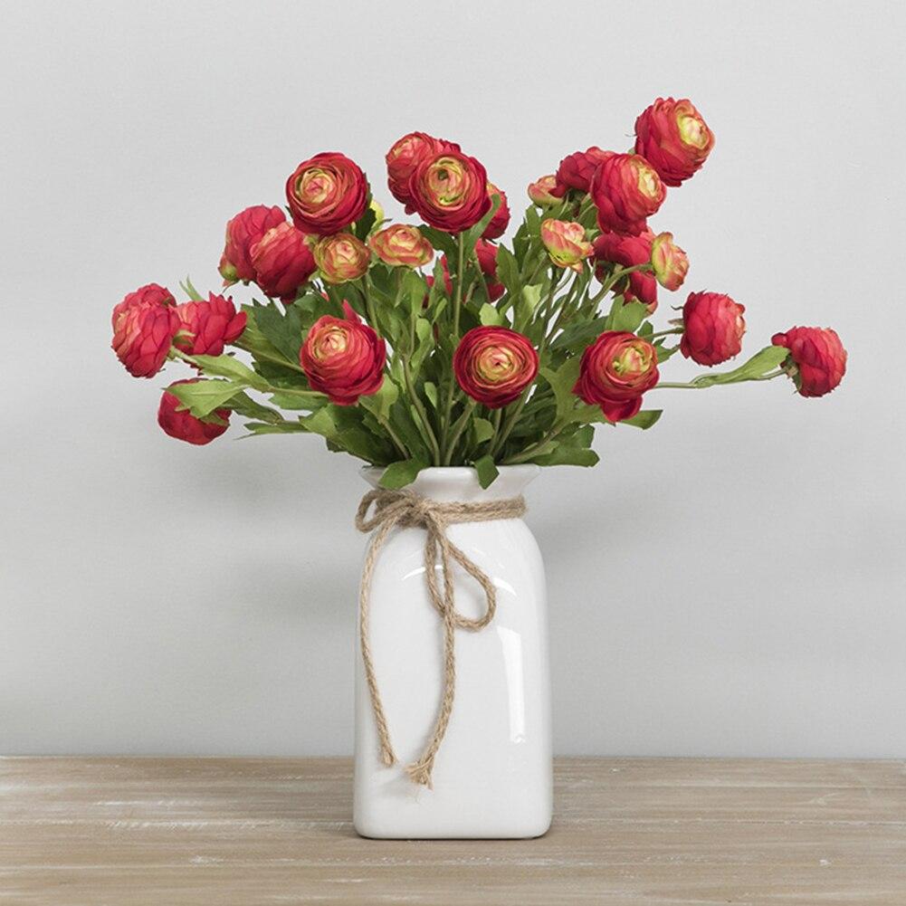 10pc Artificial False Tulip Fake Flowers Bouquet Room Home Wedding Decor NEW