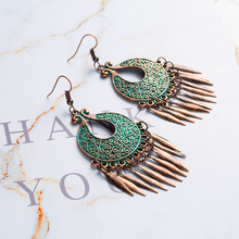Antique Dangle Hanging Drop Earrings for Women 2018 New Fashion Women Ear Jewelry Accessories E020639