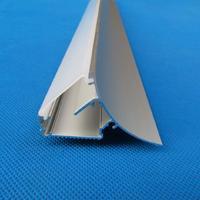 Frete grátis custo de montagem na parede 6063 perfil de alumínio led anodizado para led strip light 2 m/pcs 60 m/lote