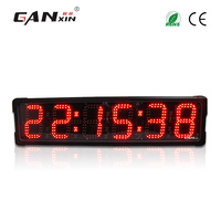 [Ganxin] 6'' Red Color led Race Timer with remote control for running events