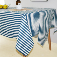 LOVRTRAVEL Modern Decorative Table Cloth Party Banquet Dining Table Cover Striped Rectangle Tablecloth Home Kitchen Table Cloths