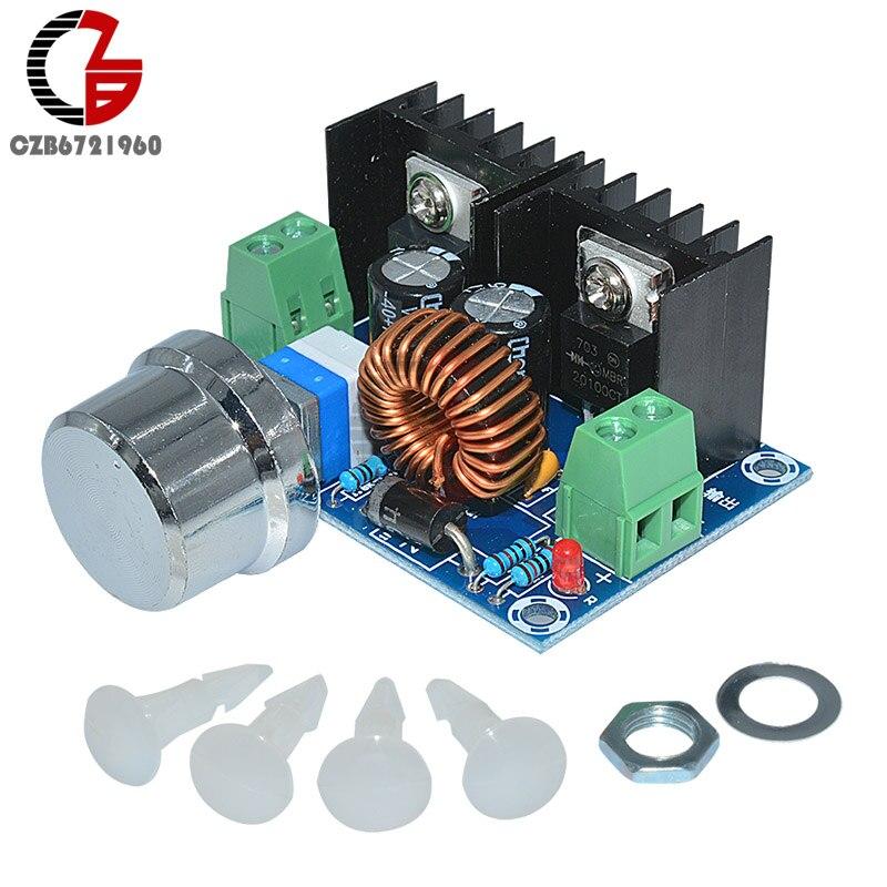 XL4016 PWM Modulation DC-DC 5V-40V to 1.2-36V Buck Converter Adjustable Step Down Power Module Max 8A 200W dc dc step down power supply module dc 4 40v to 1 25 36v 8a 200w high power voltage regulator pwm speed controller driver module