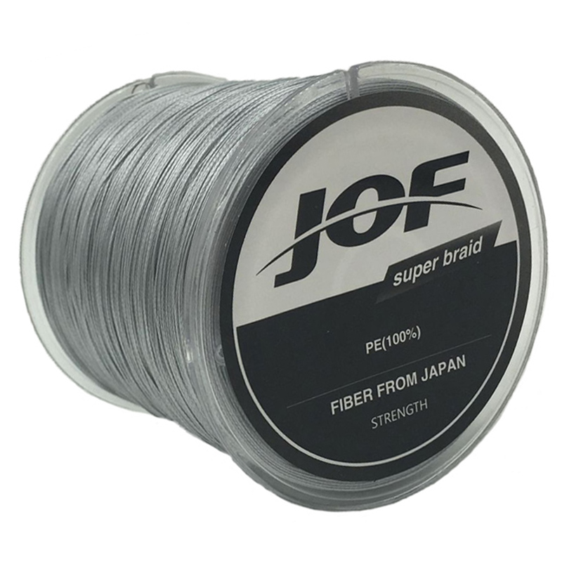2018 JOF 300m 8 Braided Fishing Line Strands PE Multifilament 8 Weaveslines For Carp Fishing tackle peche