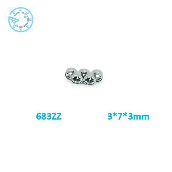 2017 new 10pcs/lot Free Shipping  683ZZ 683 zz Bearings 3x7x3 mm Miniature Ball Bearings 683 Z L-730ZZ free shipping  free shipping 10 pcs 684zz 684z 684 bearings 4x9x4 mm miniature ball bearings l 940zz abec5