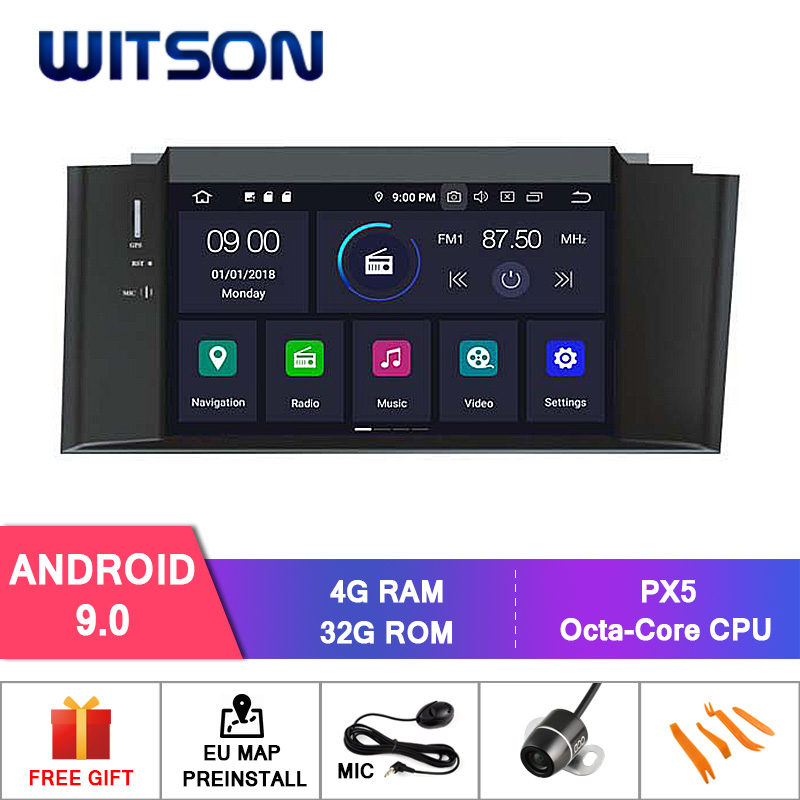 WITSON Android 9 0 Octa core Eight core 4G RAM CAR DVD PLAYER GPS For CITROEN