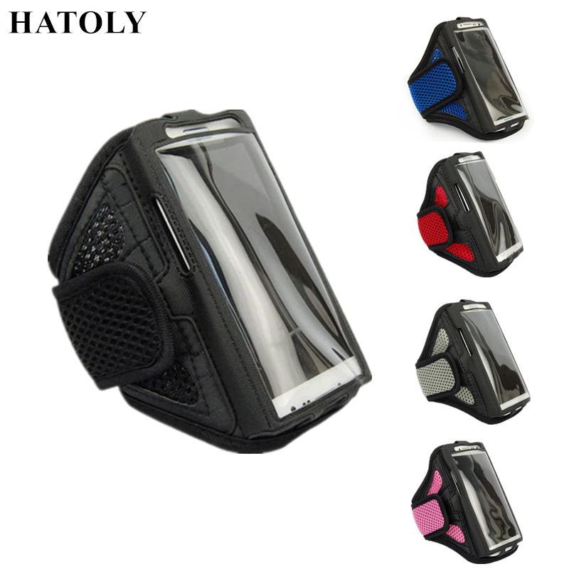 HATOLY Running Sport Bag Arm band Case for 4.5-5.1 inch Phone Case For Apple iPhone 8 / 7 Smartphones Sports Phone Bags