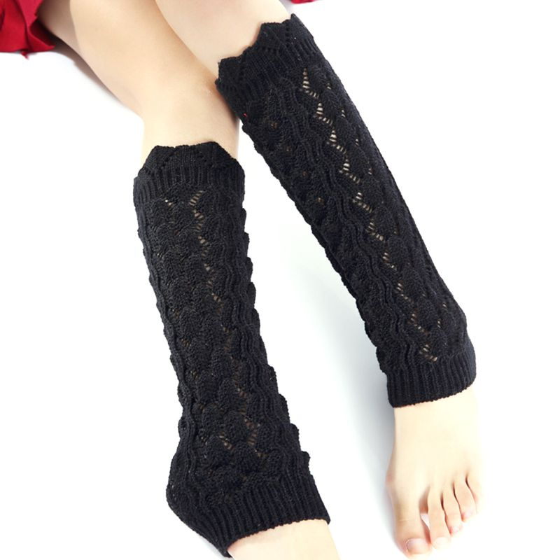 Fashion Women Knitted Socks Crochet Long Boots Socks High Quality Casual Women Warm Winter Classic Knitting Leg Warmers Sleeve