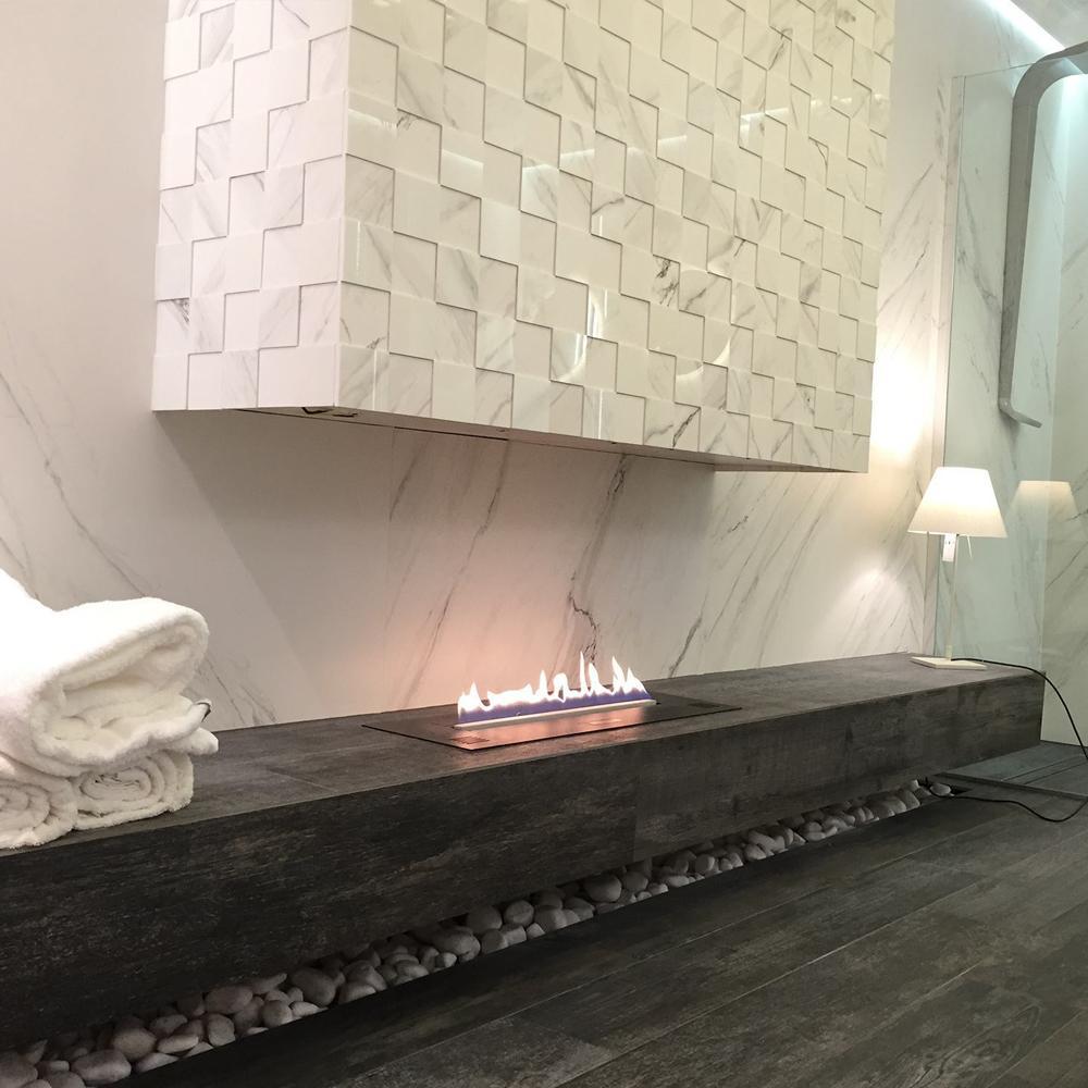 Inno-living Fire 36 Inch Chimenea Electrica Wifi Ethanol Fireplace