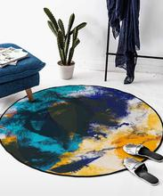 Round Carpet Nordic Simple Modern Hanging Basket Computer Chair Coffee Table Bedroom Bedside Mat Living Room Rug