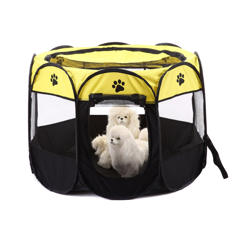 Portable Foldable Puppy Dog Pet Cat Beds Mats Rabbit Fabric Playpen Crate Cage Kennel Tent MYDING