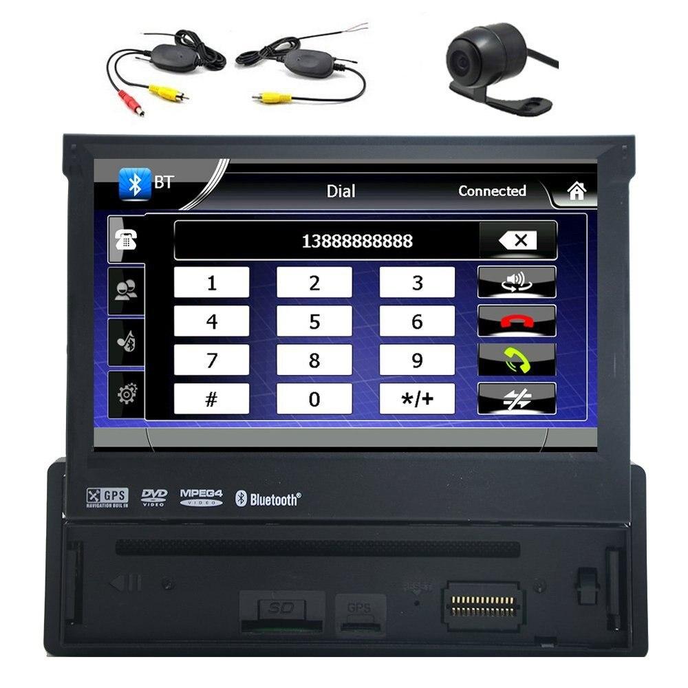 1 din 7 inch bluetooth digital media car stereo receiver. Black Bedroom Furniture Sets. Home Design Ideas