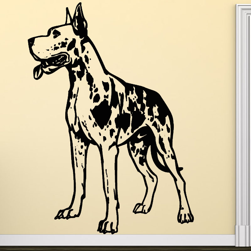 Online Buy Wholesale Great Dane Art From China Great Dane Art