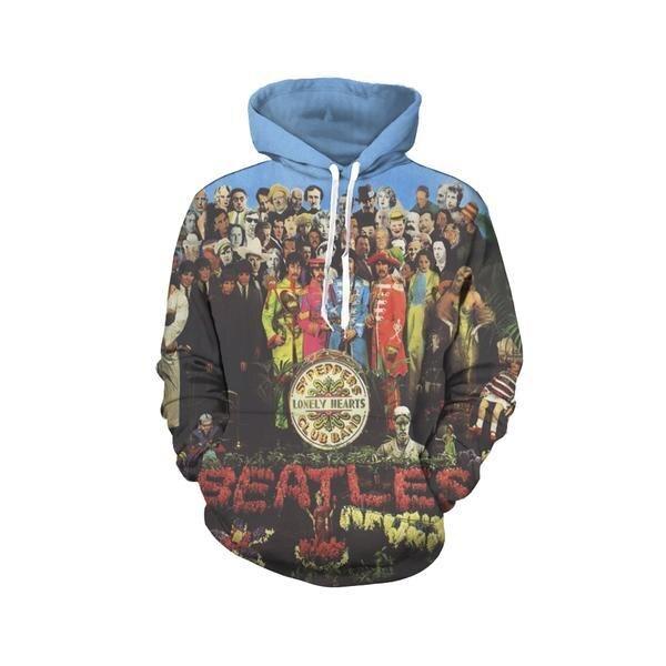 2018 Cool Men Women Hip Hop The Music Singer Pullover Hoodies Design Harajuku Sweatshirt