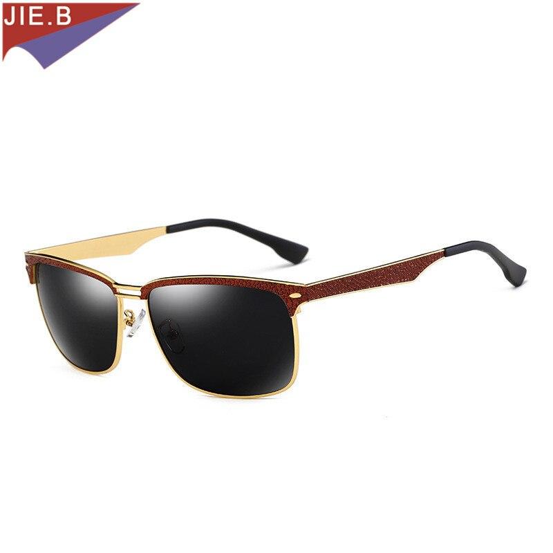 2017 New Fashion Men's Uv400 Polarized Coating Sunglasses Men Driving Mirrors Oculos Eyewear Sun Glasses For