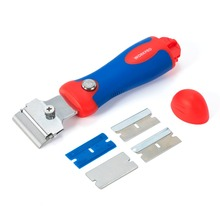 WORKPRO Safety Retractable Scraper With 4 Position Grip Handle Scraping Cutter Drawing Knife