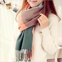 Scarf Cashmere Scarf Wrap Shawl Winter Warm Girls Scarf Women S Scarves Tassel Long Blanket Winter